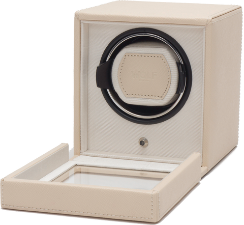 Wolf - Cub Single Watch Winder w Cover | 461153