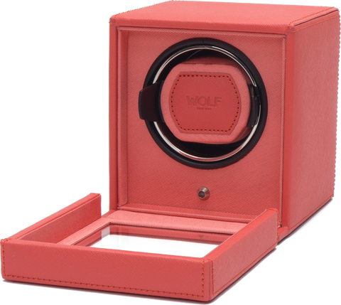 Wolf - Cub Single Watch Winder w Cover | 461142