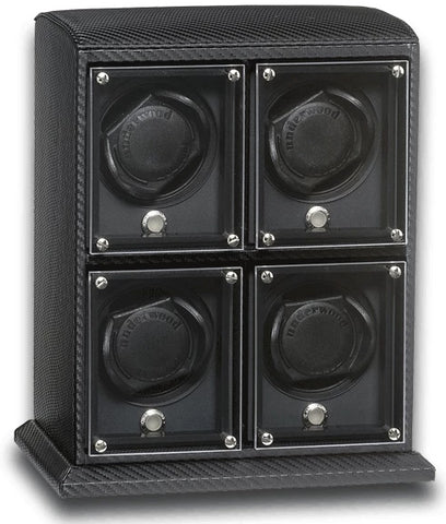 Underwood (London) - 4-Unit EVO Watch Winder in Carbon Fiber