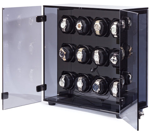 Orbita Milano 12-Unit Watch Winder In Acrylic