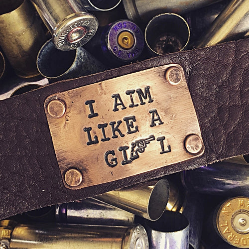 I Aim Like a Girl® Cuff
