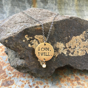I Can. I Will.® Necklace