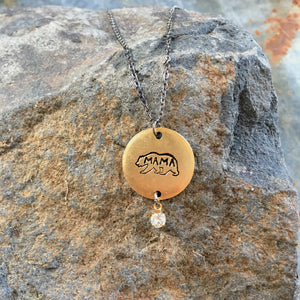 I Am Mama Bear Necklace