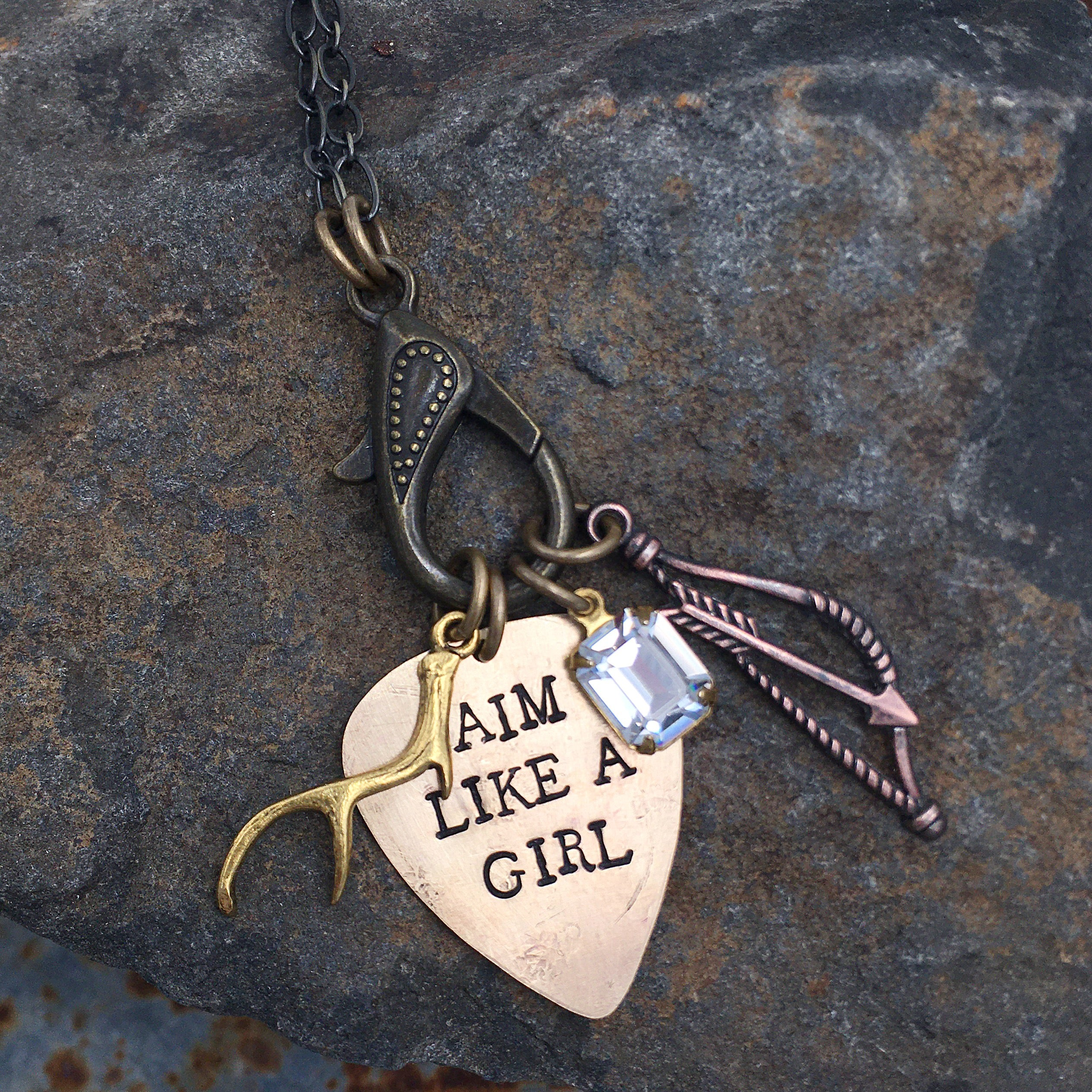 Aim Like a Girl® Treasure Necklace