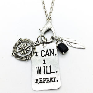 I Can. I Will. Repeat.® Treasure Charm Necklace