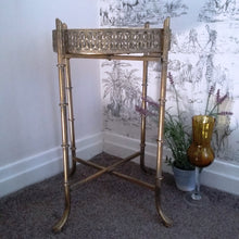 Load image into Gallery viewer, Gold & Mirrored Tray Table - magnoliavintage