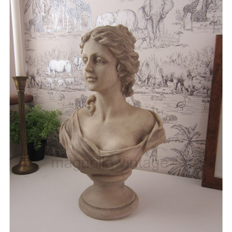 Venus Bust God of Love ornament Statue Vintage Chic Style - magnoliavintage