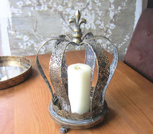 Load image into Gallery viewer, Large Crown Candle Holder - magnoliavintage