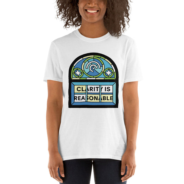 "Stained Glass ""See Through"" Window Short-Sleeve Unisex T-Shirt"