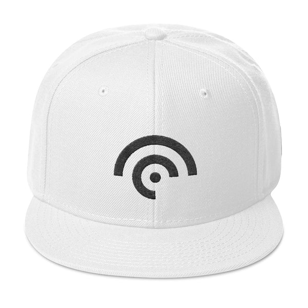 CC Hat White Otto Cap 125-978 - Wool Blend Snapback