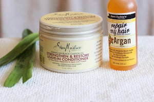 Shea Moisture Jamaican Black Castor Leave-In-Conditioner (Review)