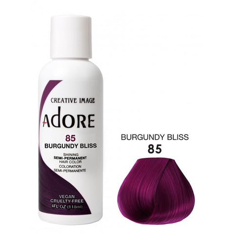 ADORE Color Burgundy Bliss 85 4oz - HAIRGLO