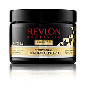 REVLON REALISTIC Black Seed Oil Strengthening Curling Custard 300ml