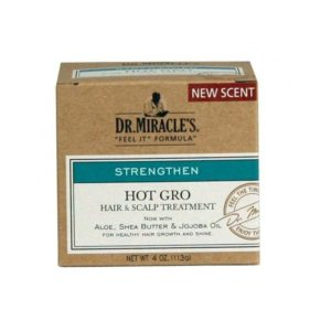 DR MIRACLES Hot Gro 4oz - HAIRGLO