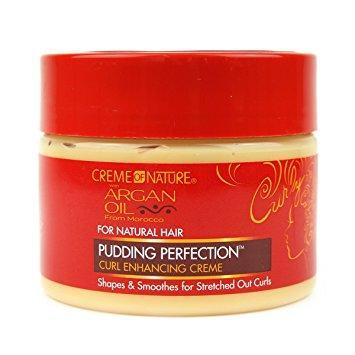 CREME OF NATURE Argan Oil Pudding Perfection Curl Enhancing Cream