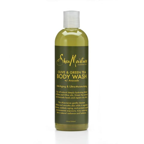 SHEA MOISTURE Olive & Green Tea Body Wash 13oz