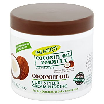 PALMER'S Coconut Oil Formula Curl Styler Cream Pudding