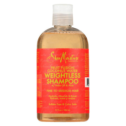 SHEA MOISTURE Fruit Fusion Coconut Water Weightless Shampoo 13oz