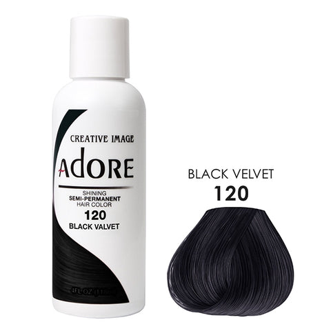 ADORE Color Black Velvet 120 4oz