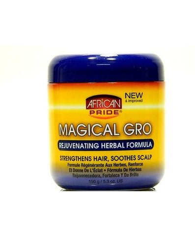 AFRICAN PRIDE Magical Gro Rejuvenating Herbal Formula 5.3oz - HAIRGLO