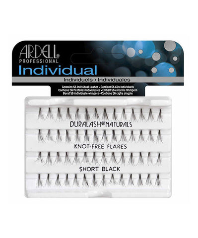 ARDELL Duralash Individual Knot Free Lashes Black - HAIRGLO