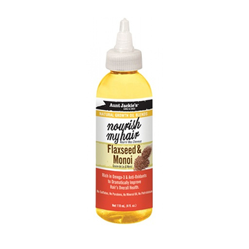 AUNT JACKIE'S Nourish My Hair Flaxseed & Monoi Oil 4oz - HAIRGLO