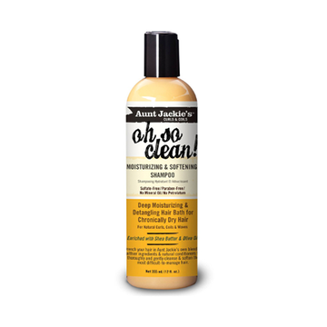 AUNT JACKIE'S Oh So Clean Moisturising & Softening Shampoo 12oz - HAIRGLO