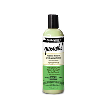 AUNT JACKIE'S Quench Hydrating Intensive Leave-In Conditioner 12oz - HAIRGLO