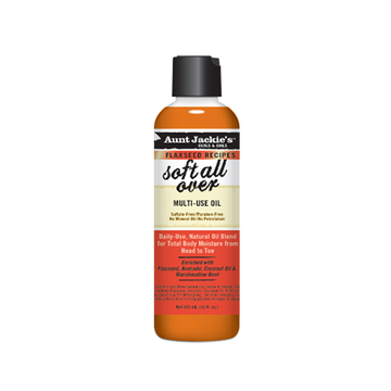 AUNT JACKIE'S Soft All Over Multi- Purpose Oil Therapy 8oz - HAIRGLO