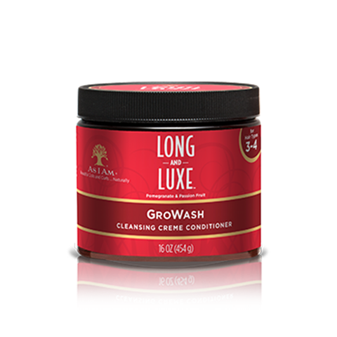 AS I AM Long & Luxe GroWash 16oz