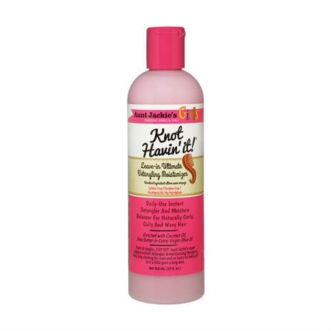 AUNT JACKIE'S GIRLS Knot Having It Leave -In Ultimate Detangling Moisturiser 12oz - HAIRGLO