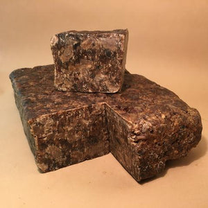 Organic West African Black Soap + Shea Butter