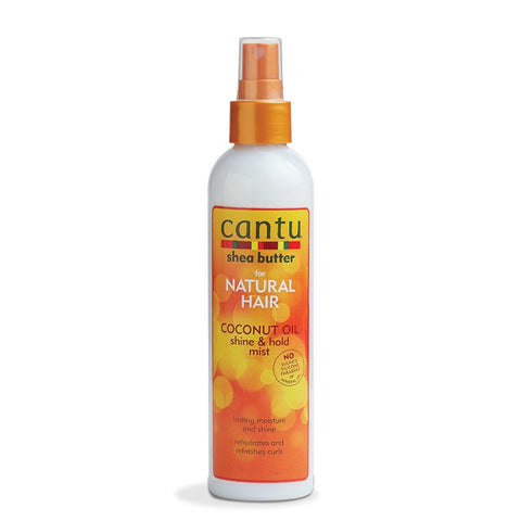 CANTU Coconut Oil Detangling Shine & Hold Mist 8oz - HAIRGLO