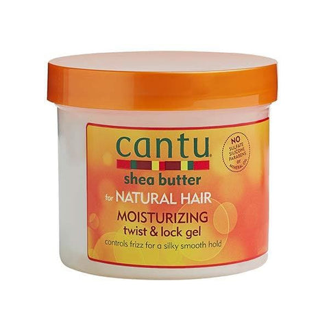 CANTU Shea Butter Moisturising Twist & Lock Gel 370g - HAIRGLO