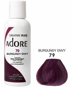 ADORE Shining Semi Permanent Hair Color Burgundy Envy 79 4oz