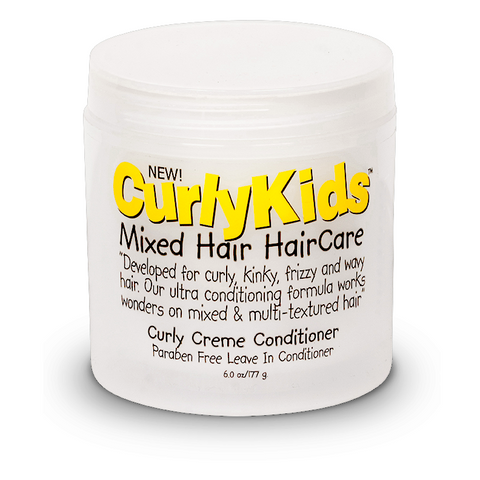 CURLY KIDS Curly Creme Conditioner 6oz - HAIRGLO