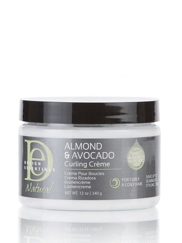 DESIGN ESSENTIALS Almond & Avocado Curling Creme 340g