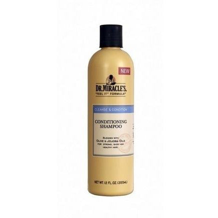 DR MIRACLES Conditioning Shampoo 12oz - HAIRGLO
