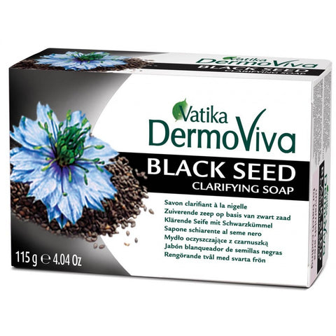VATIKA Dermoviva Blackseed Clarifying Soap