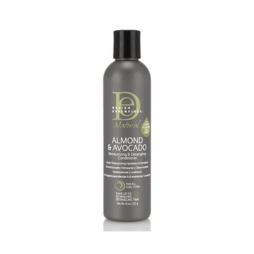 DESIGN ESSENTIALS Almond & Avocado Moisturising & Detangling Conditioner 8oz