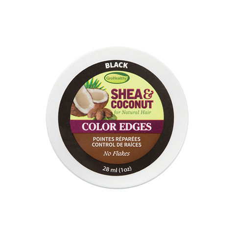 GRO HEALTHY Shea And Coconut Smooth Color Edges (Black) 1oz