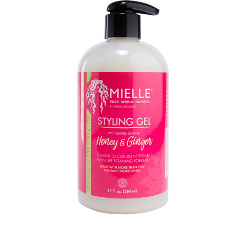 MIELLE ORGANICS Honey & Ginger Styling Gel 13oz