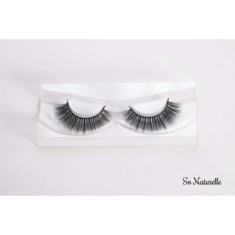 """So Naturelle"" Luxury 3D Silk Lashes - HAIRGLO"