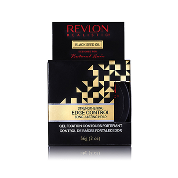 REVLON REALISTIC Black Seed Oil Strengthening Edge Control 2oz
