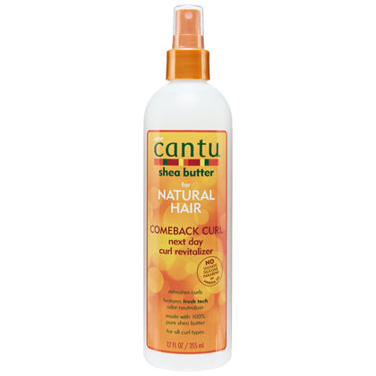 CANTU Shea Butter Comeback Curl Next Day Curl Revitalizer