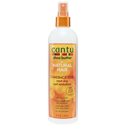 CANTU Shea Butter Comeback Curl Next Day Curl Revitalizer 12oz - HAIRGLO