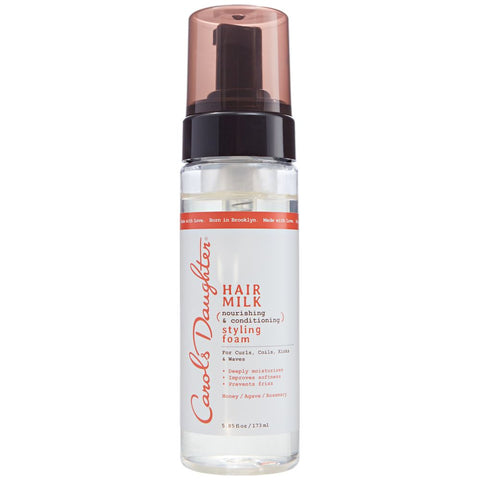 CAROL'S DAUGHTER Hair Milk Nourishing & Conditioning Styling Foam 5.85oz - HAIRGLO