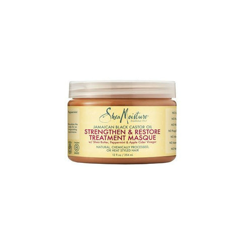 SHEA MOISTURE Jamaican Black Castor Oil Strengthen, Grow & Restore Treatment Masque 12oz