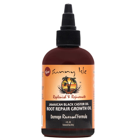SUNNY ISLE Jamaican Black Castor Root Repair Growth Oil 4oz