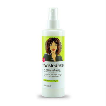 TWISTED SISTA 30 Second Curl Spray